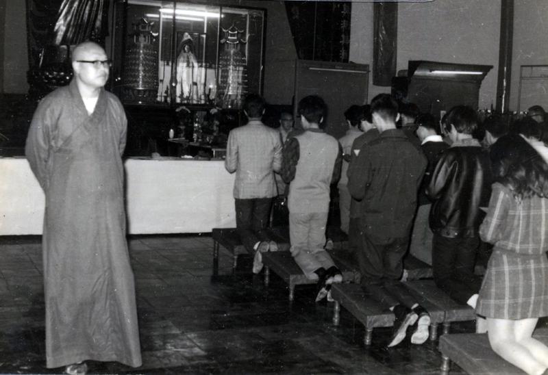 松山寺皈依典禮